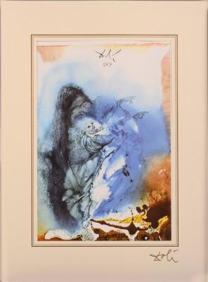"""Genesis 1; 1, 24 - 25 z teki """"40 Paintings of the Bible"""""""