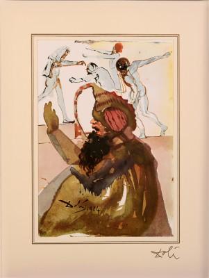 """Genesis 37; 28, 34 - 36 z teki """"40 Paintings of the Bible"""""""