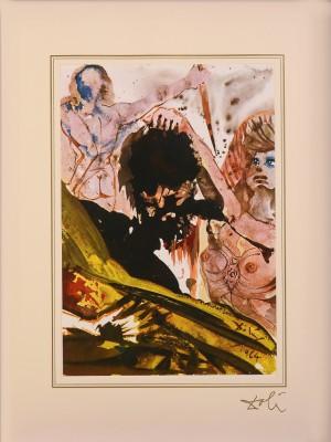"Mark 6; 27 - 28 z teki ""40 Paintings of the Bible"""