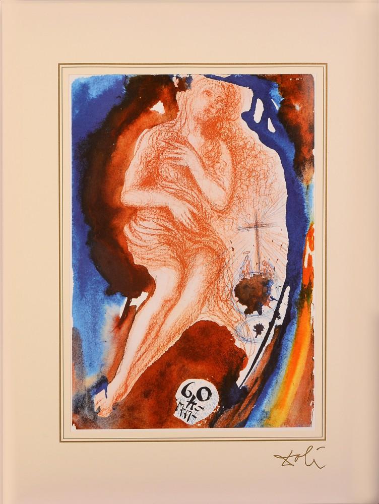 """John 8; 3 - 11 z teki """"40 Paintings of the Bible"""""""