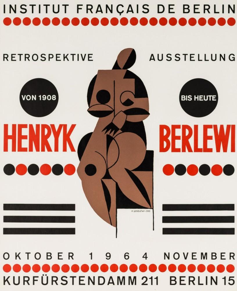 Henryk Berlewi, wystawa retrospektywna