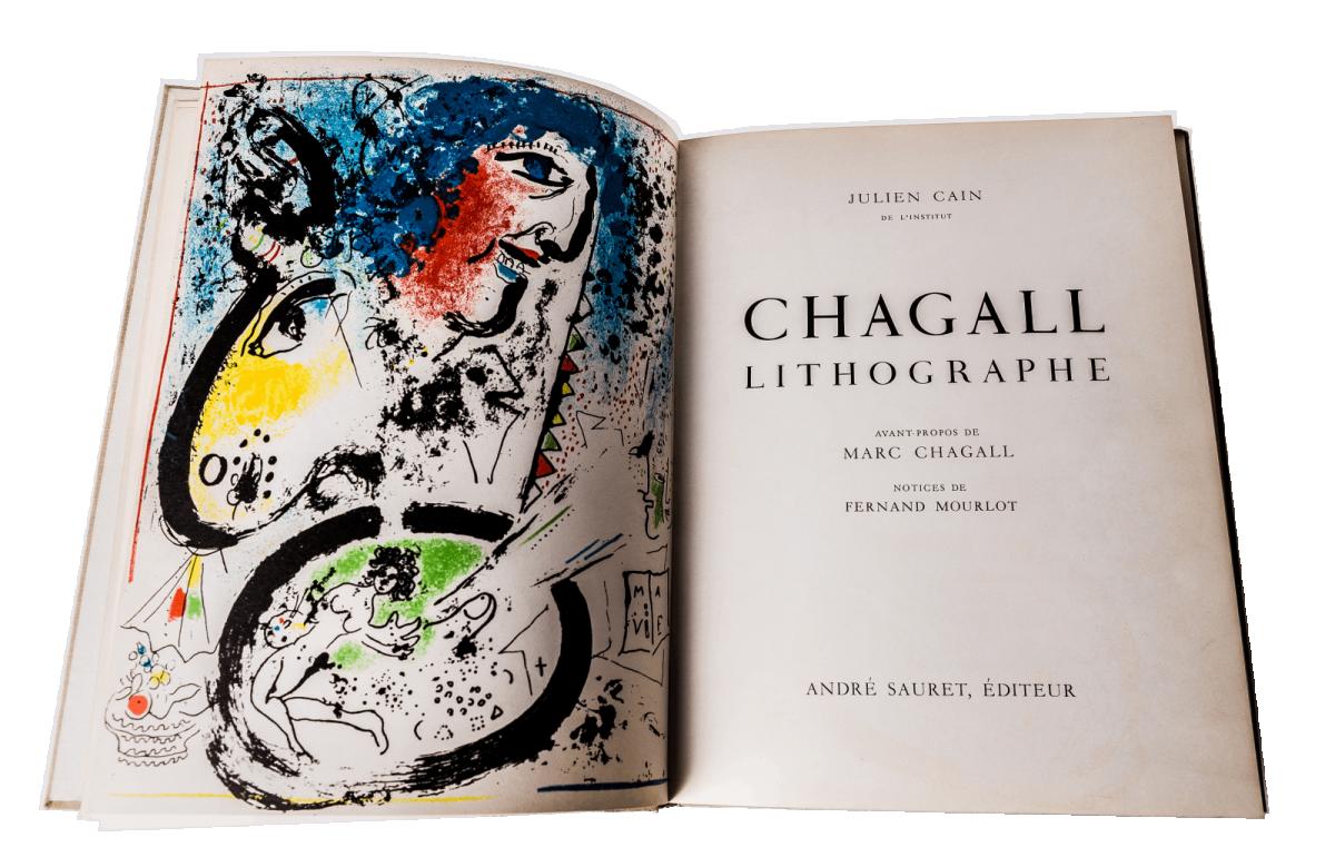Lithographe I album z 12 litografiami barwnymi