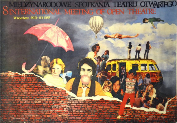 8 Międzynarodowe spotkania teatru otwartego 1987 r. Wrocław/ 29.IX – 11.X. 1987