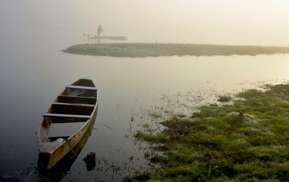 """W samotności z cyklu """"Pejzaże we mgle"""""""