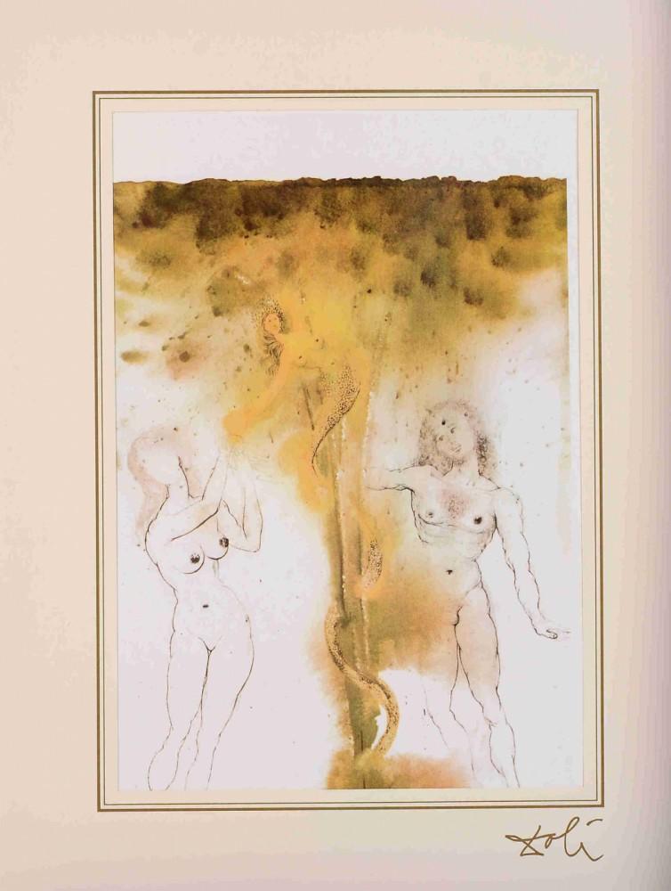 """Peccatum originis z teki """"40 Paintings of the Bible"""""""