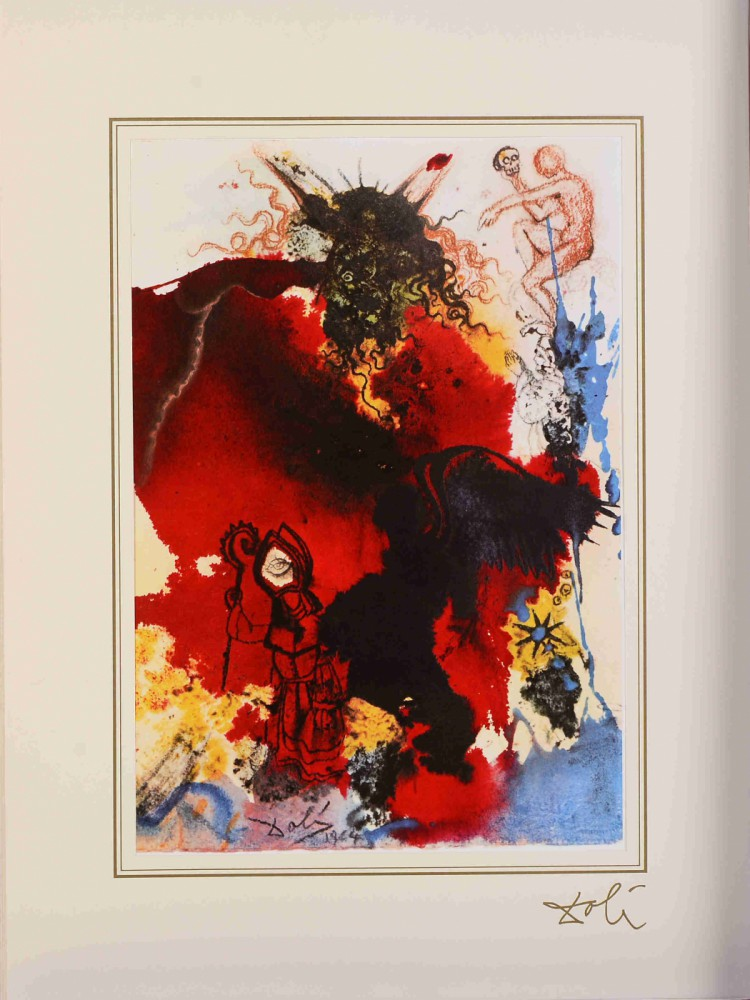 "Jesus Is Tempted By Satan z teki ""40 Paintings of the Bible"""