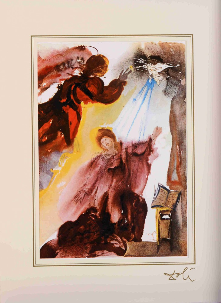 "Annuntiatio z teki z teki ""40 Paintings of the Bible"""
