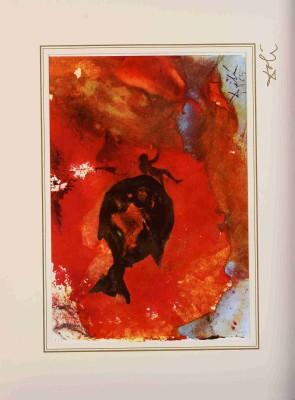 "Ionas in ventre piscis z teki ""40 Paintings of the Bible"""