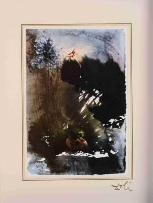 """Vir et mulier in Paradiso Voluptatis """"40 Paintings of the Bible"""""""