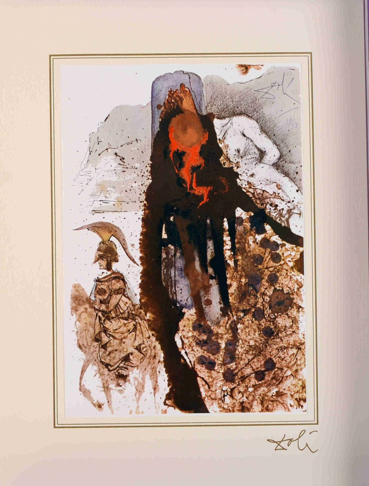 "Iesus flagellatus (John 19:1) z teki ""40 Paintings of the Bible"""