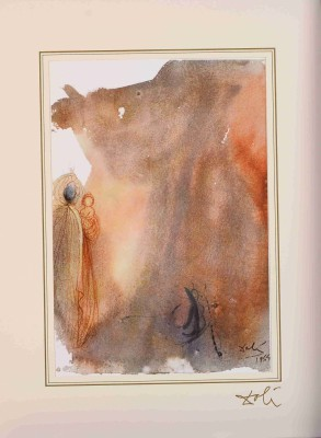 "Ecce virgo concipiet (Isaiah 7:14) z teki ""40 Paintings of the Bible"""