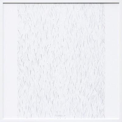 White Monochrom  nr. XVIII